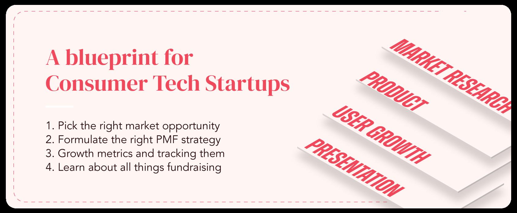 Founder Stack Program designed for Consumer Tech startups