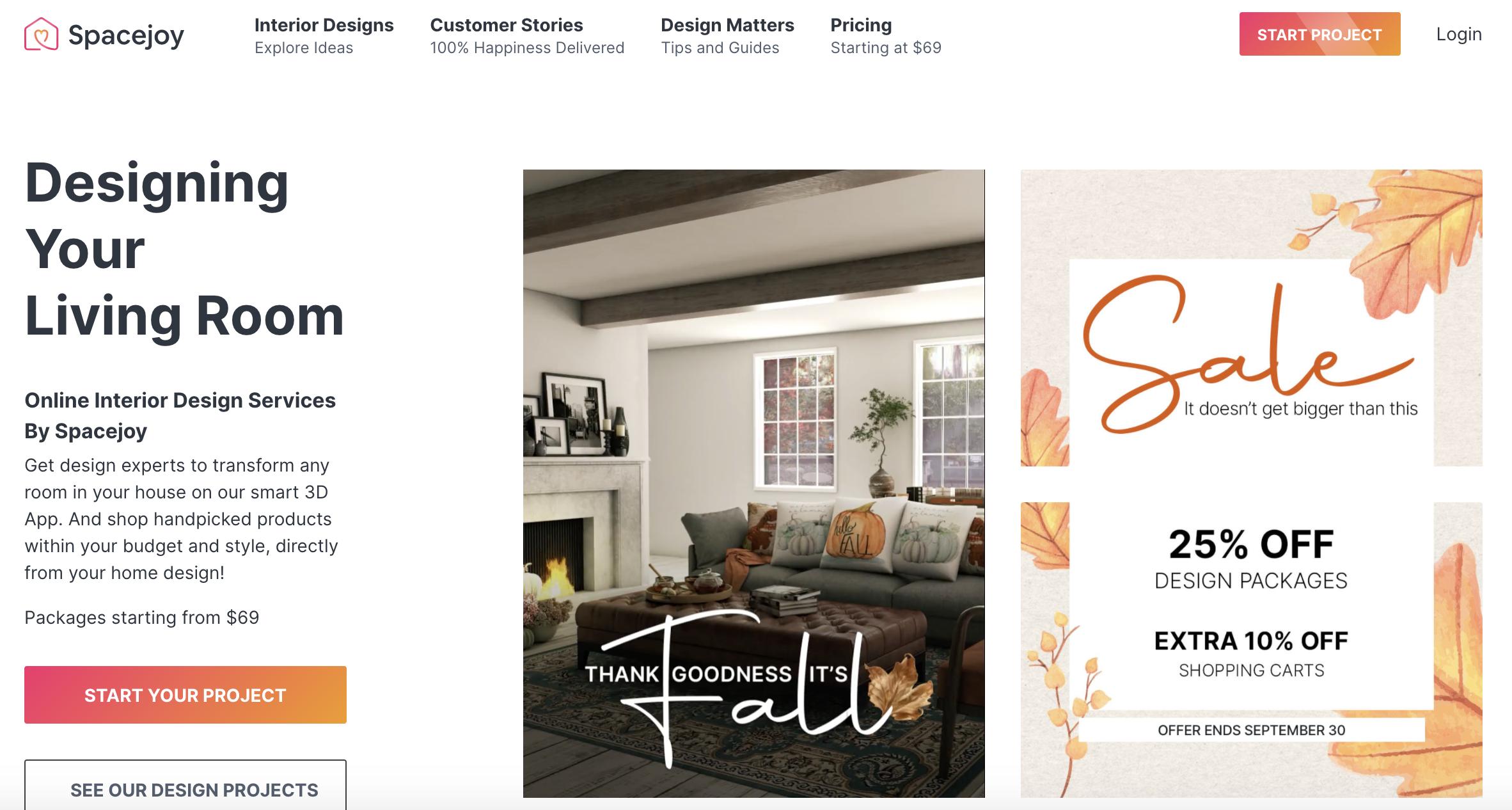 Online Interior Design Services By Spacejoy | Spacejoy India | Spacejoy USA