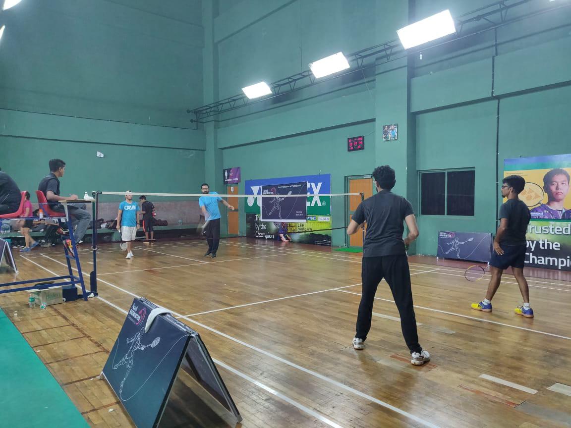 Accel badminton championship 2018