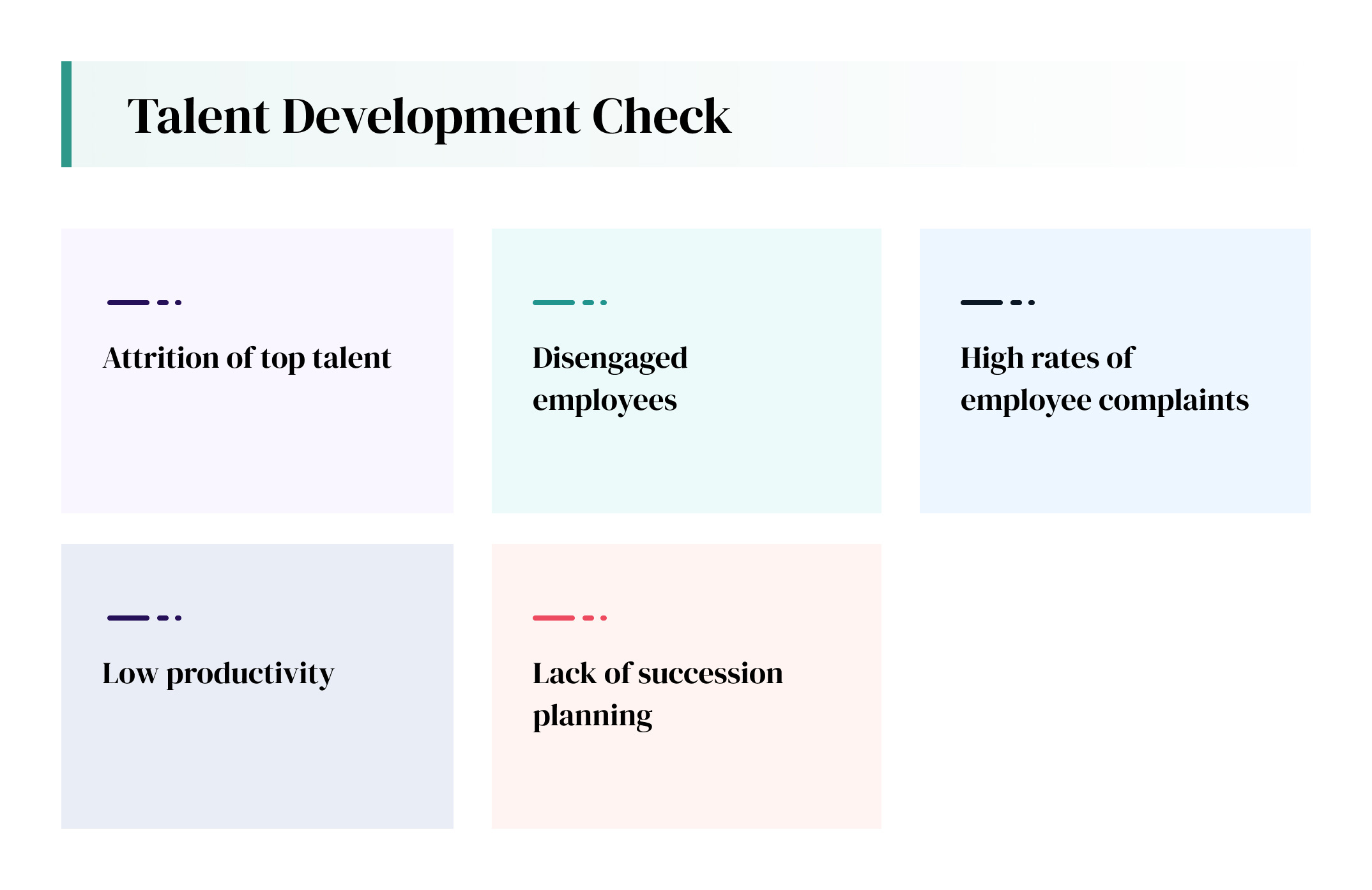 talent development check