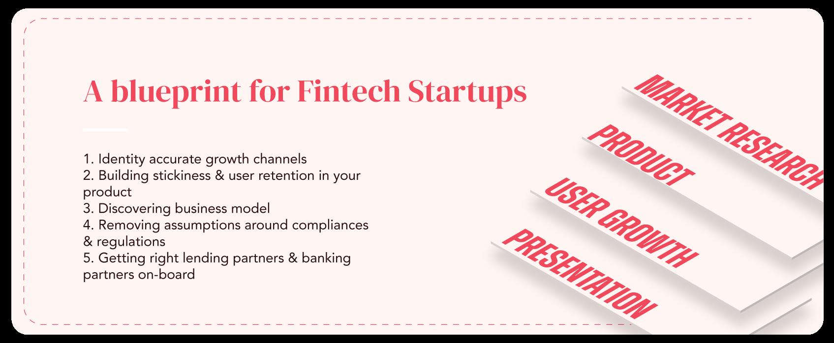 Fintech startup blueprint