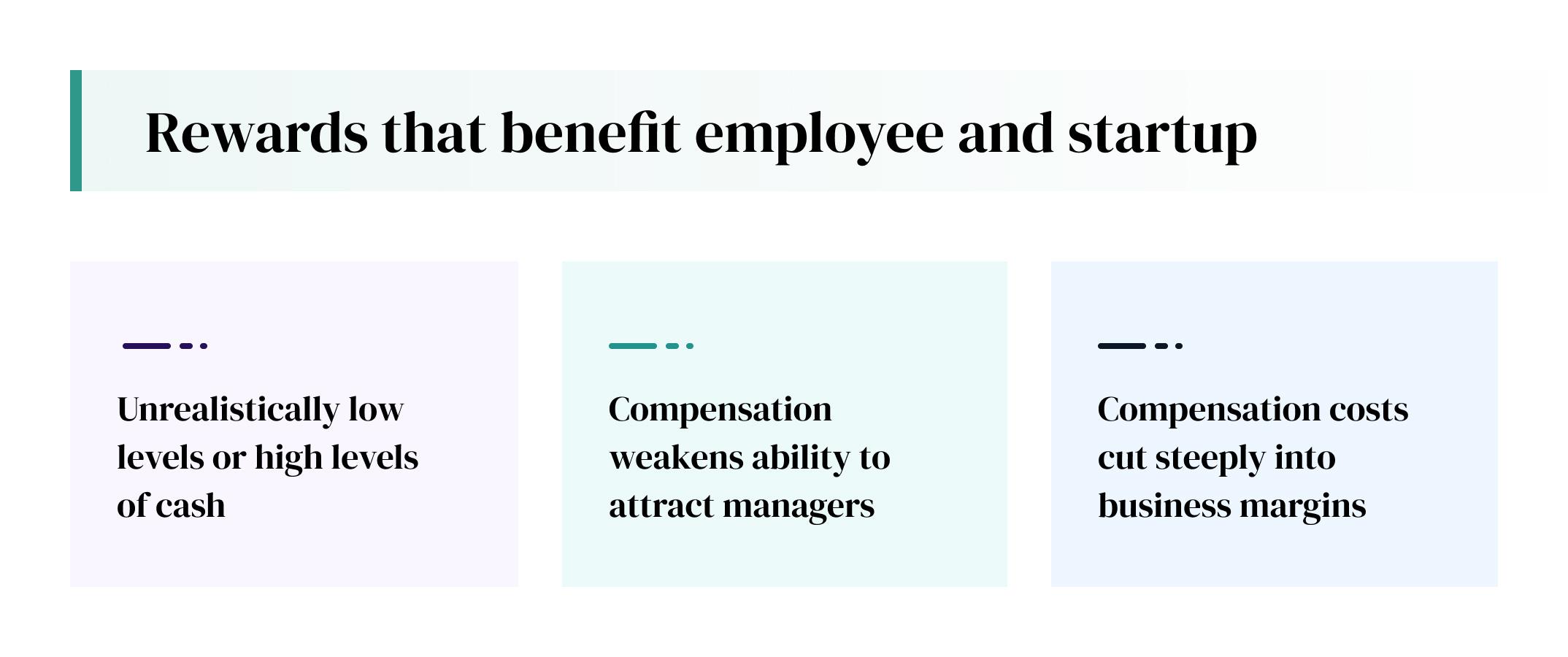 rewards benefits startup