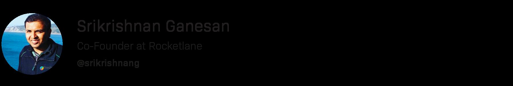 srikrishnan ganesan
