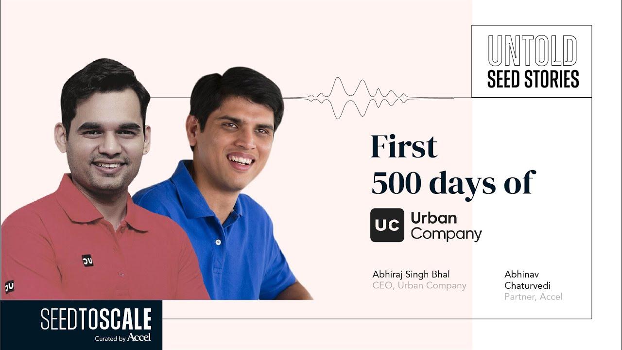 First 500 Days of Urban Company