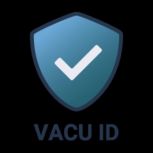 Ícono de Escudo Vacu ID