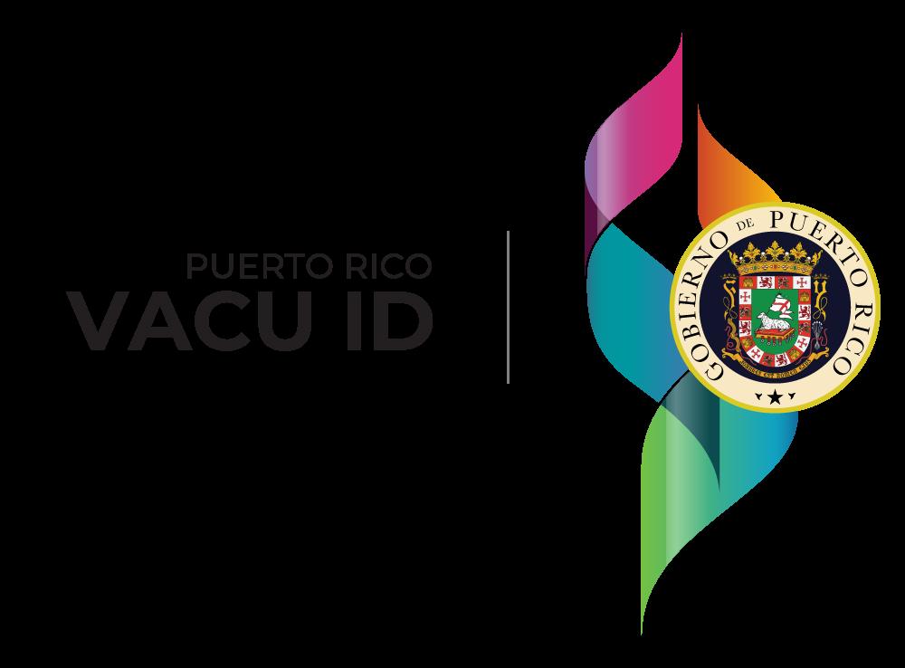 Sello del Gobierno de Puerto Rico y Vacu ID