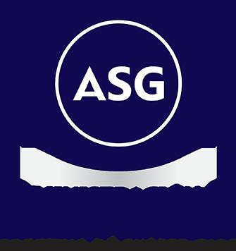 Logo de ASG