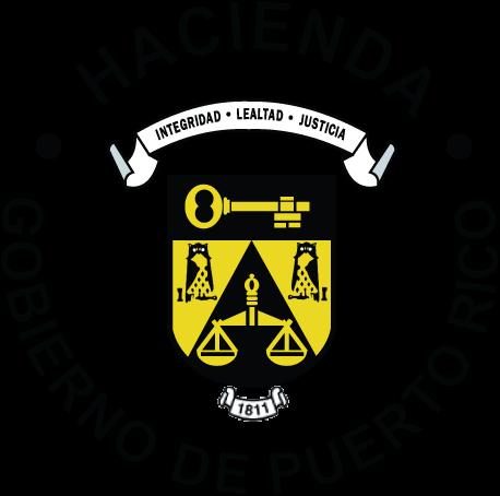 Logo del Departamento de Hacienda