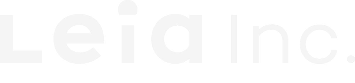 Leia Inc Logo Light
