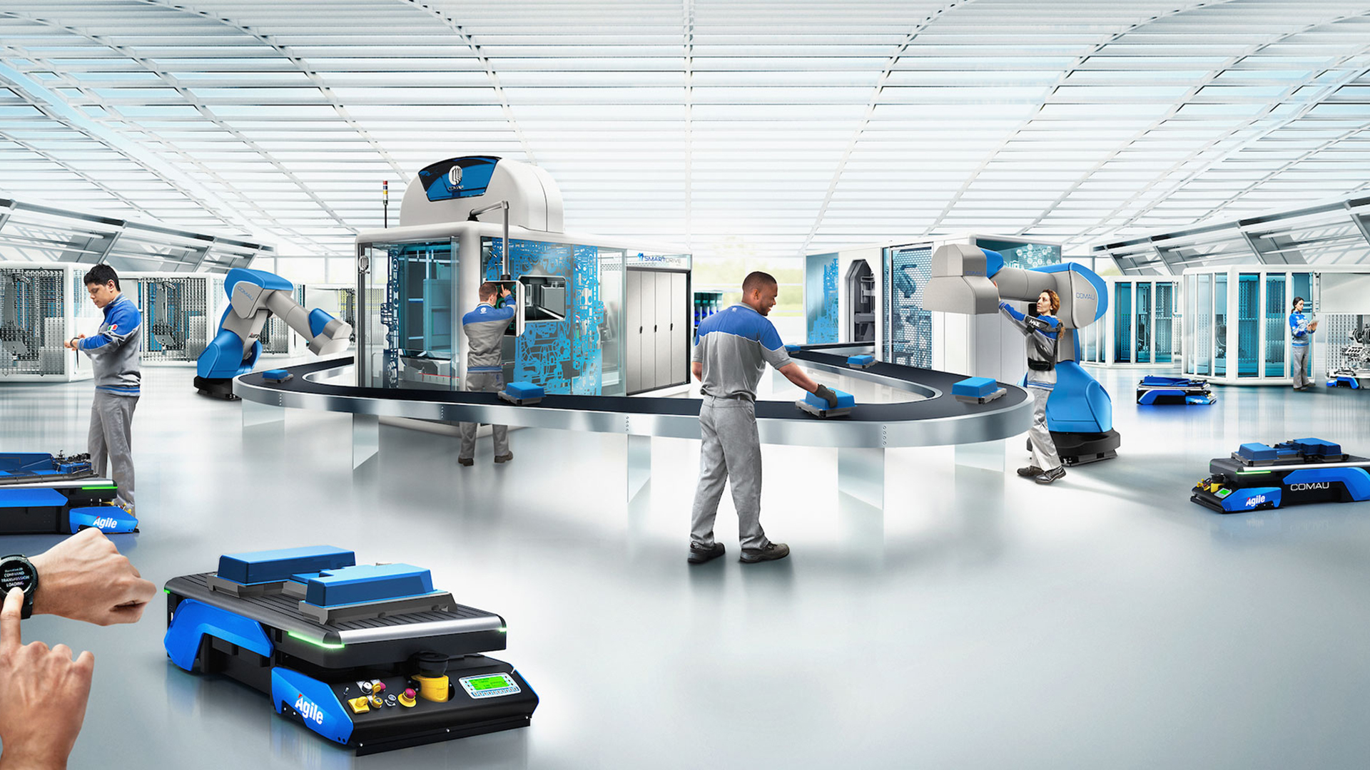 Building the Factory of the Future: Comau's Approach to Industry 4.0