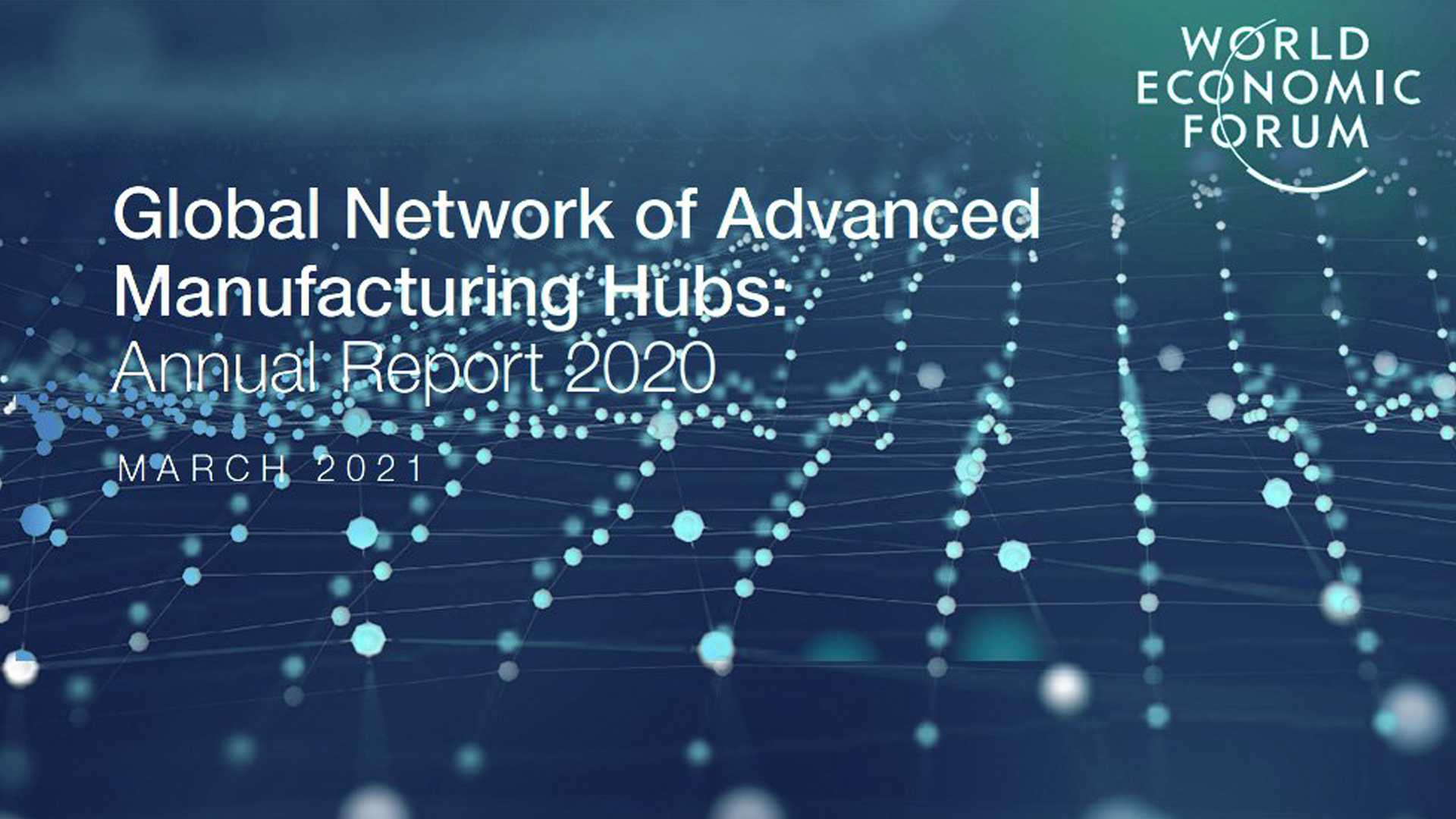 Automation Alley is a noted contributor to the World Economic Forum's newly-released 2020 AMHUB Annual Report