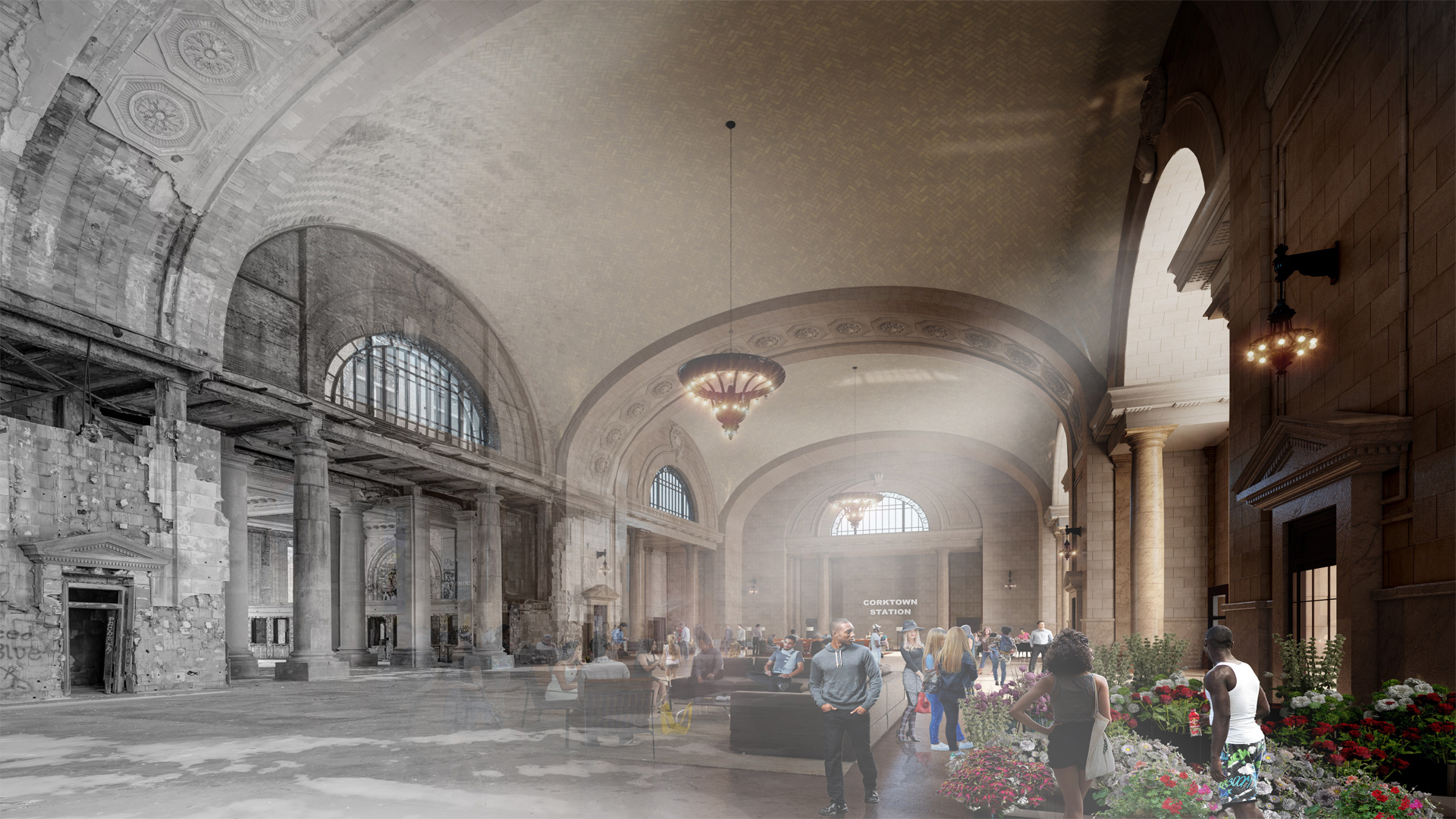 How the Latest Technology is Bringing a Detroit Landmark Back to Life