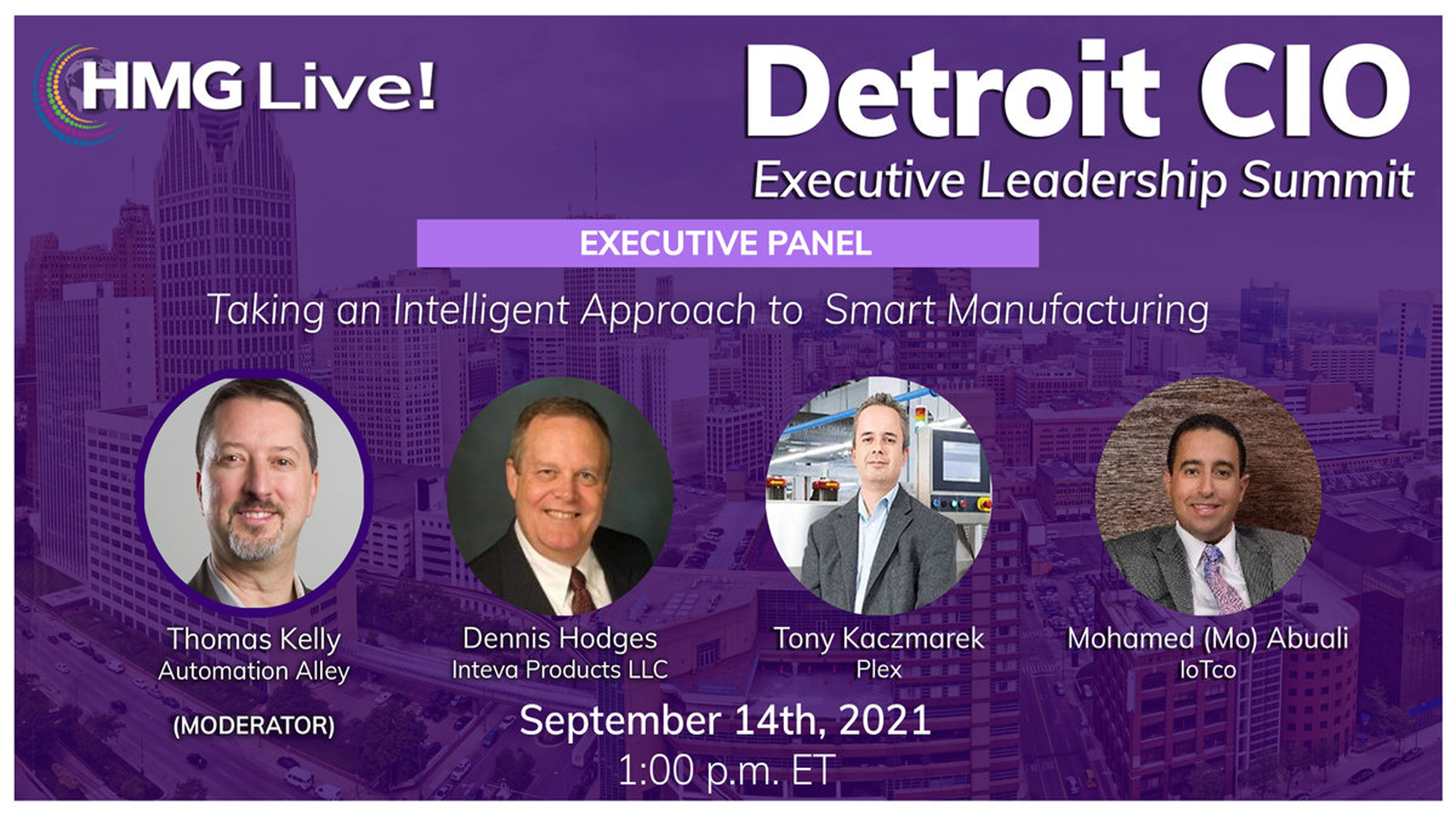 Automation Alley CEO to speak, moderate at 2021 Detroit CIO Executive Leadership Summit
