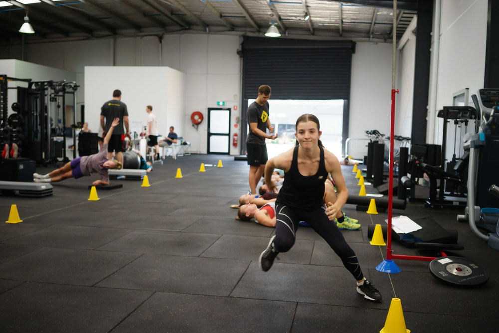 Plyometrics covers a wide range of movements including sprinting, jumping and cutting/change of direction movements