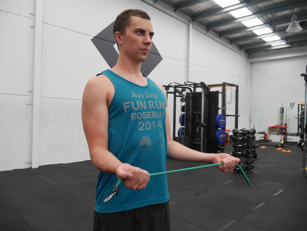 Open book. A great exercise made better with 5-10 second holds with the arms just outside parallel