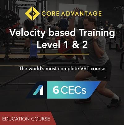 Velocity Based Training - Level 1 & 2