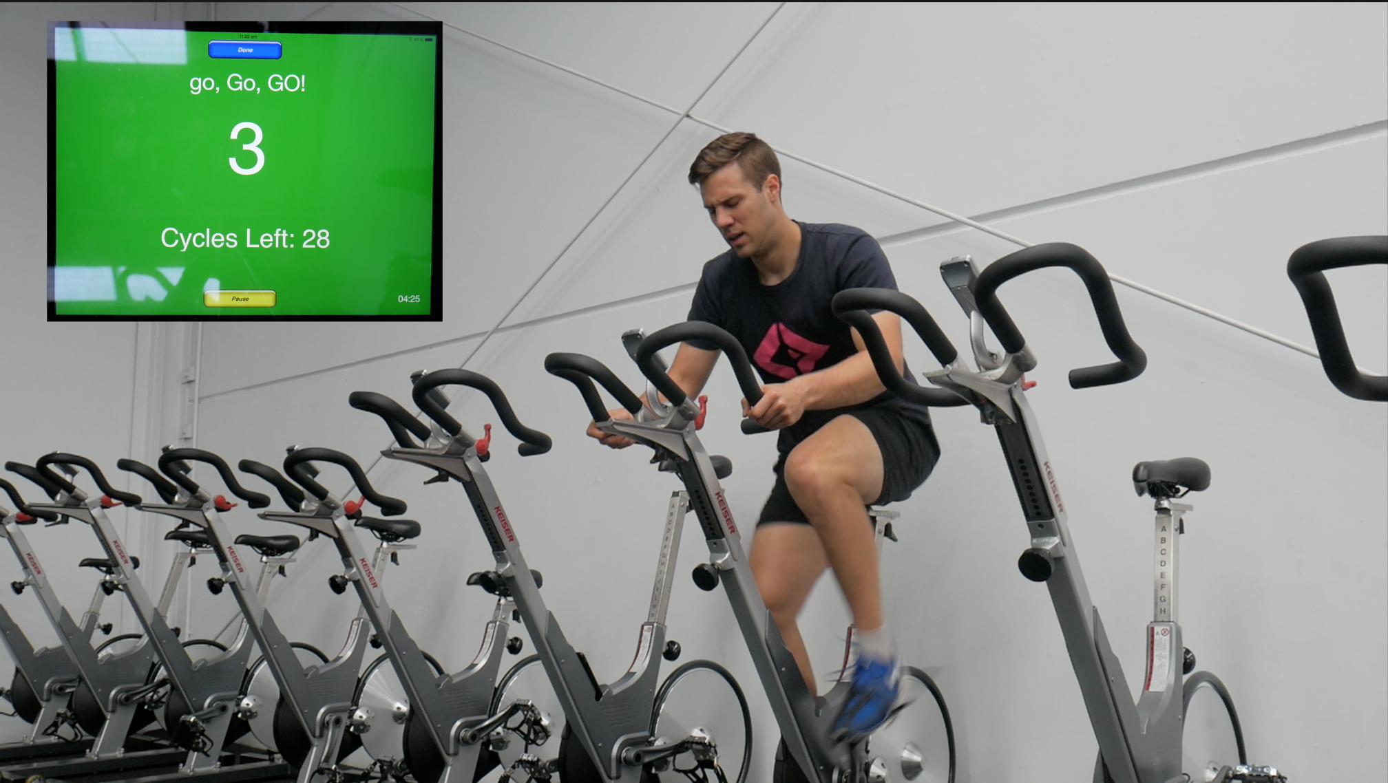 The World's Best HIIT Workout: How To do 8:12 Intervals on a Spin Bike
