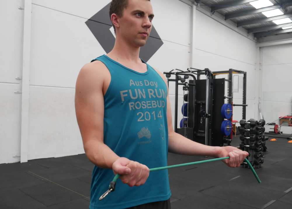 Open Books - A great way to turn on your external rotator cuff