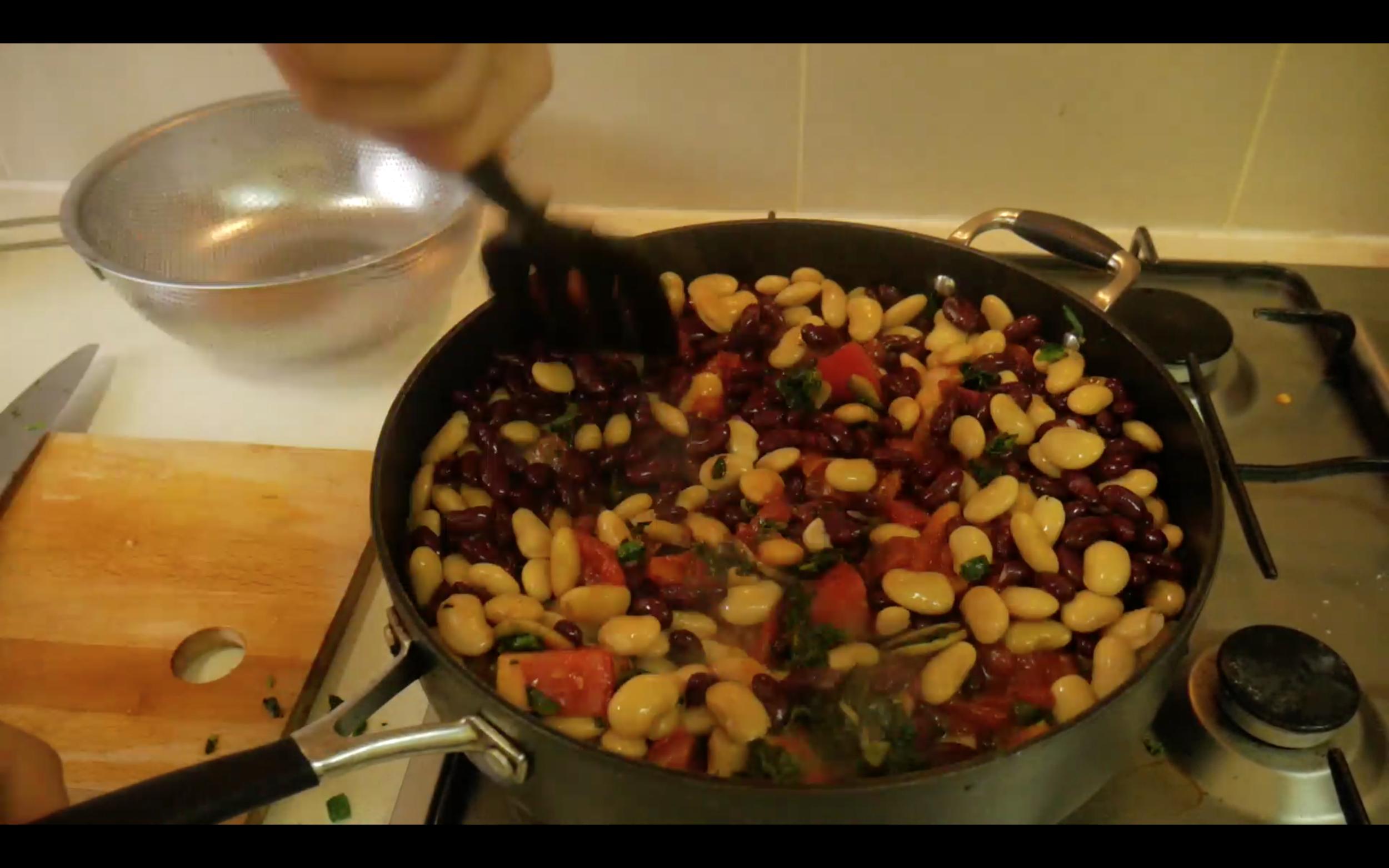 High Protein Breakfast: Homemade Baked Beans