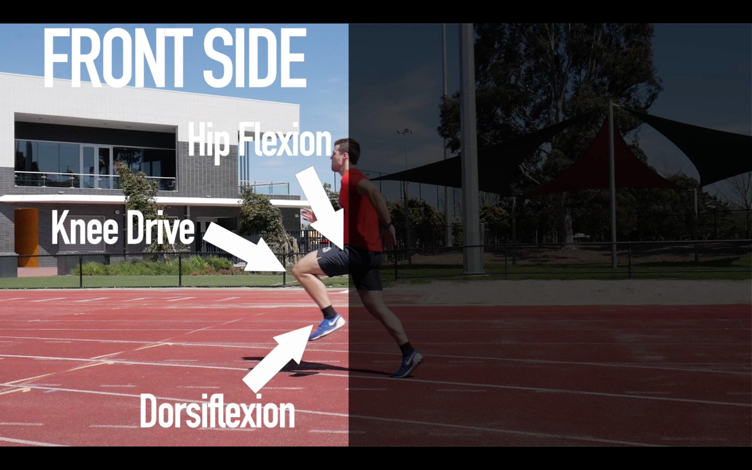 Front Side vs Back Side Mechanics: What makes Better Sprinters