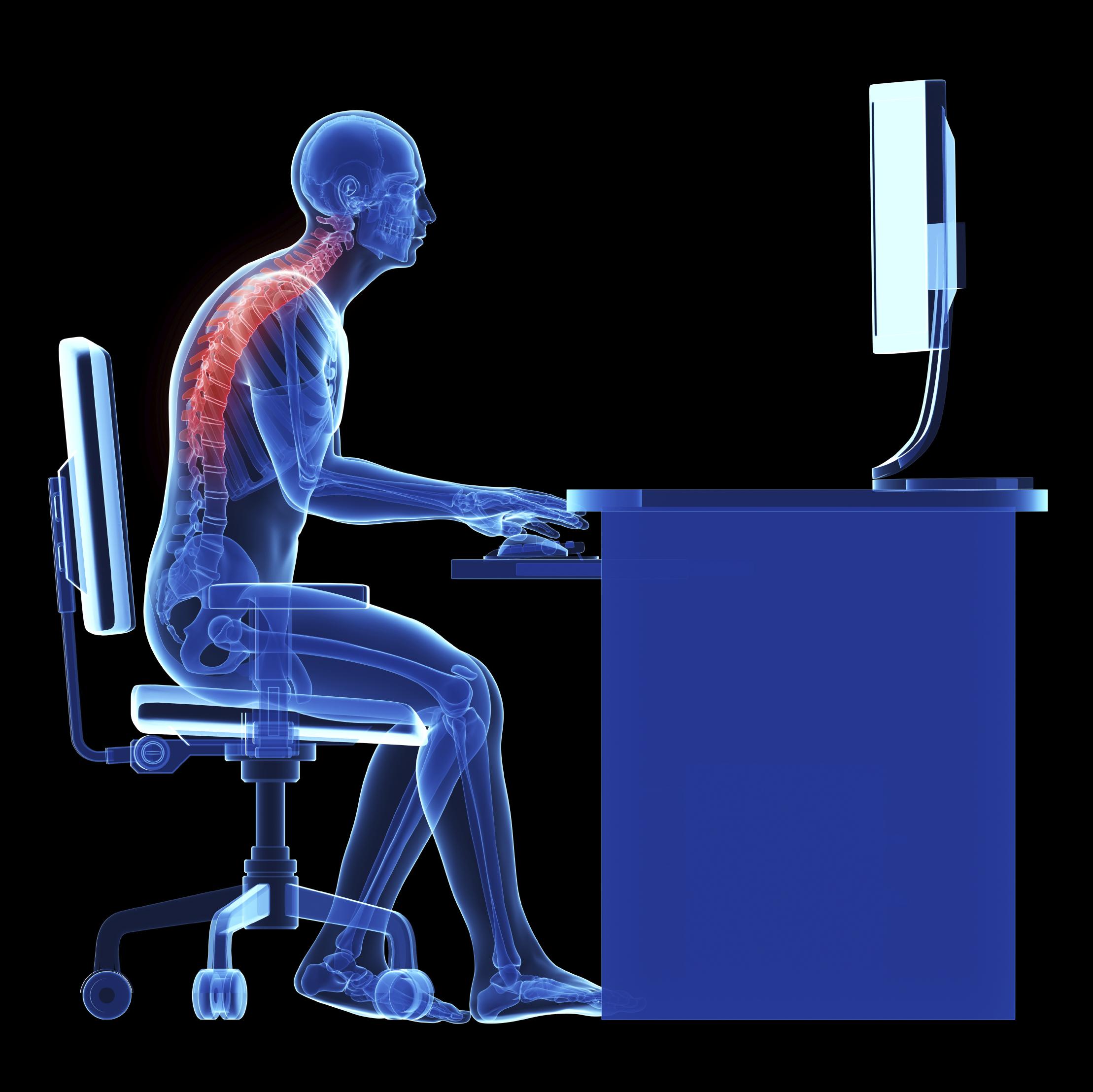 Mini Desk Workout: Fix a Slouched Posture