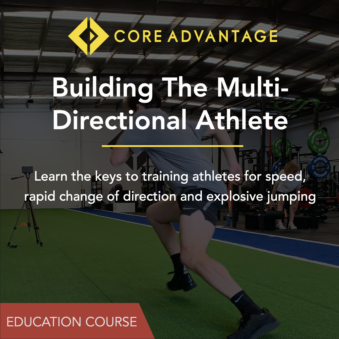 Building the multi-directional athlete