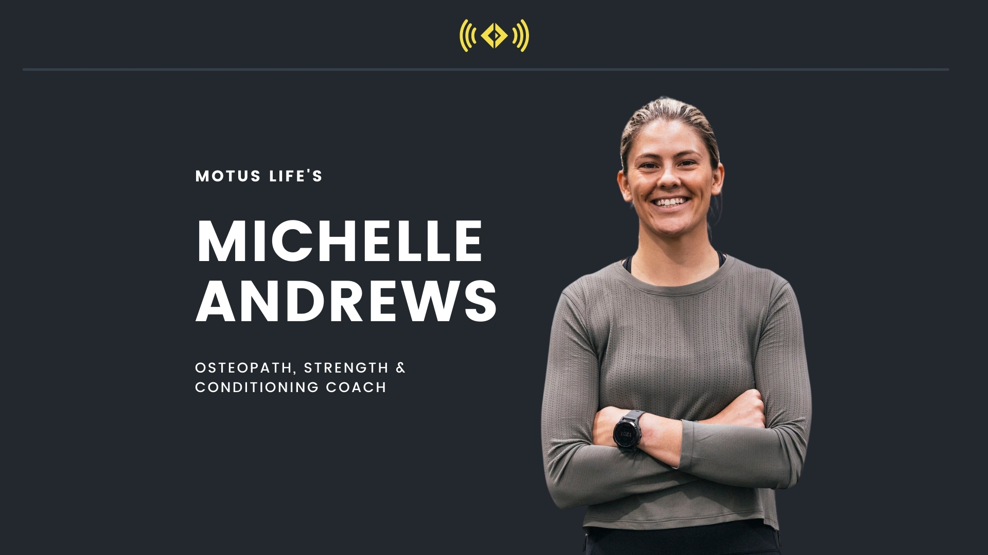 #176 - Osteopathy & S&C With Michelle Andrews From Motus Life