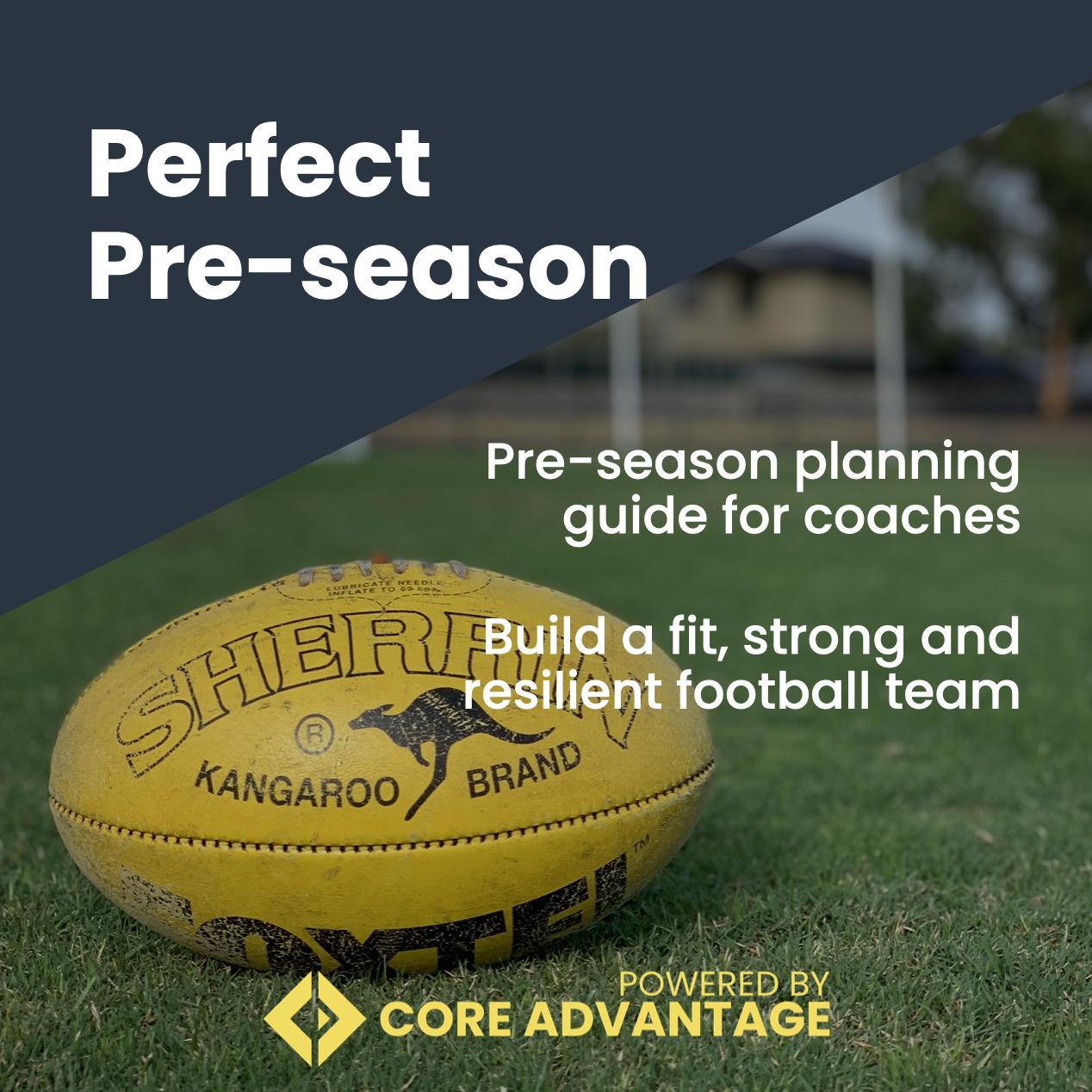 Perfect Pre-Season Resources