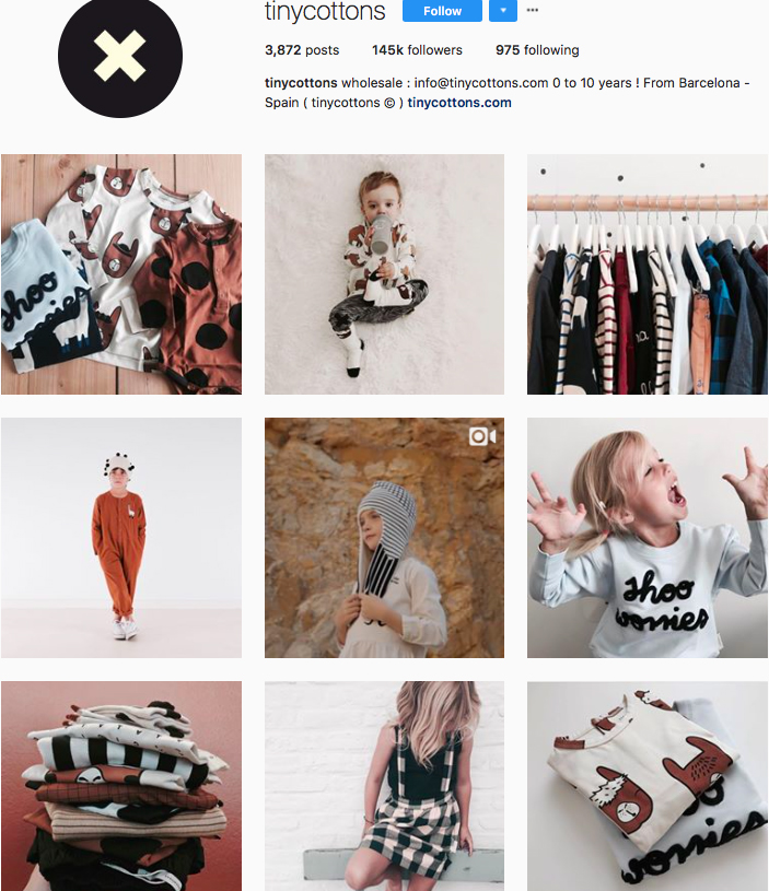 tiny cottons, stella mccartney kids, freshly picked, fashion kids, children clothes online, kids clothing brandsm best clothing brands on instagram, accounts to follow on instagram