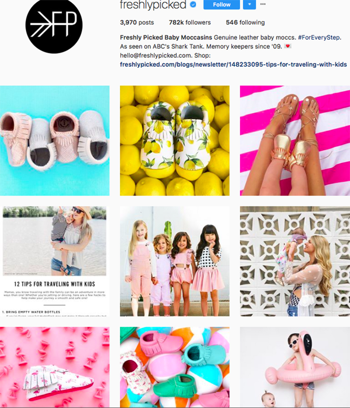 freshly picked, fashion kids, children clothes online, kids clothing brandsm best clothing brands on instagram, accounts to follow on instagram
