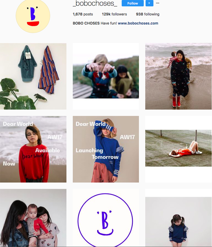 bobo choses, fashion kids, children clothes online, kids clothing brandsm best clothing brands on instagram, accounts to follow on instagram