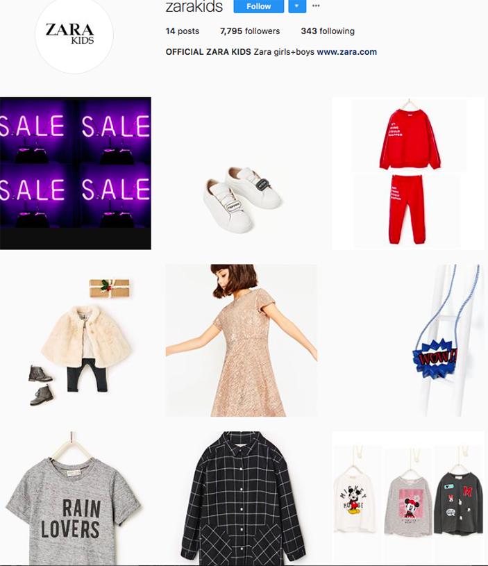 zara kids, fashion kids, children clothes online, kids clothing brands, best clothing brands on instagram accounts to follow on instagram
