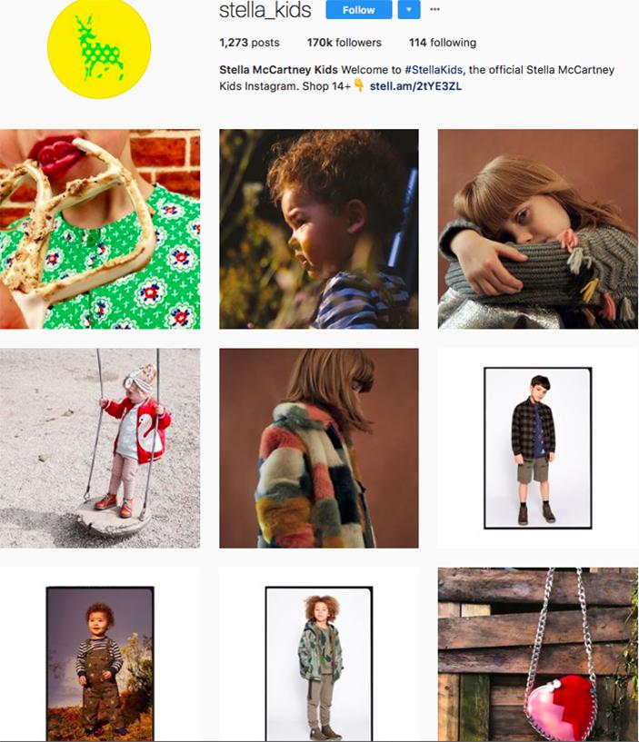 stella mccartney kids, freshly picked, fashion kids, children clothes online, kids clothing brandsm best clothing brands on instagram, accounts to follow on instagram