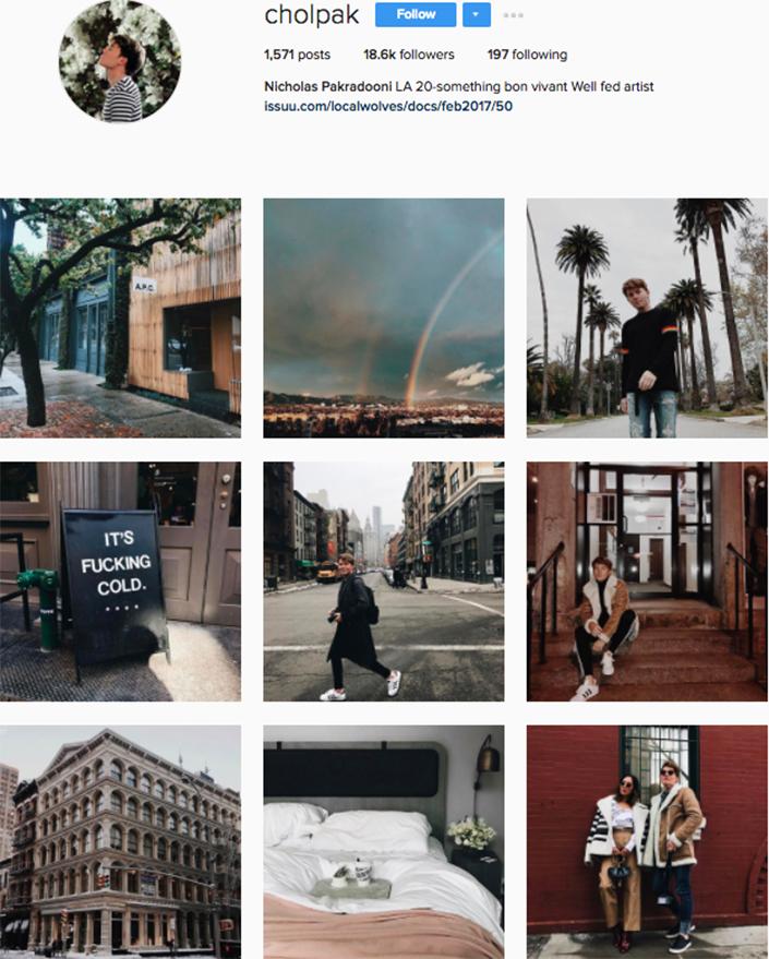 best menswear style bloggers Instagram influencers cholpak