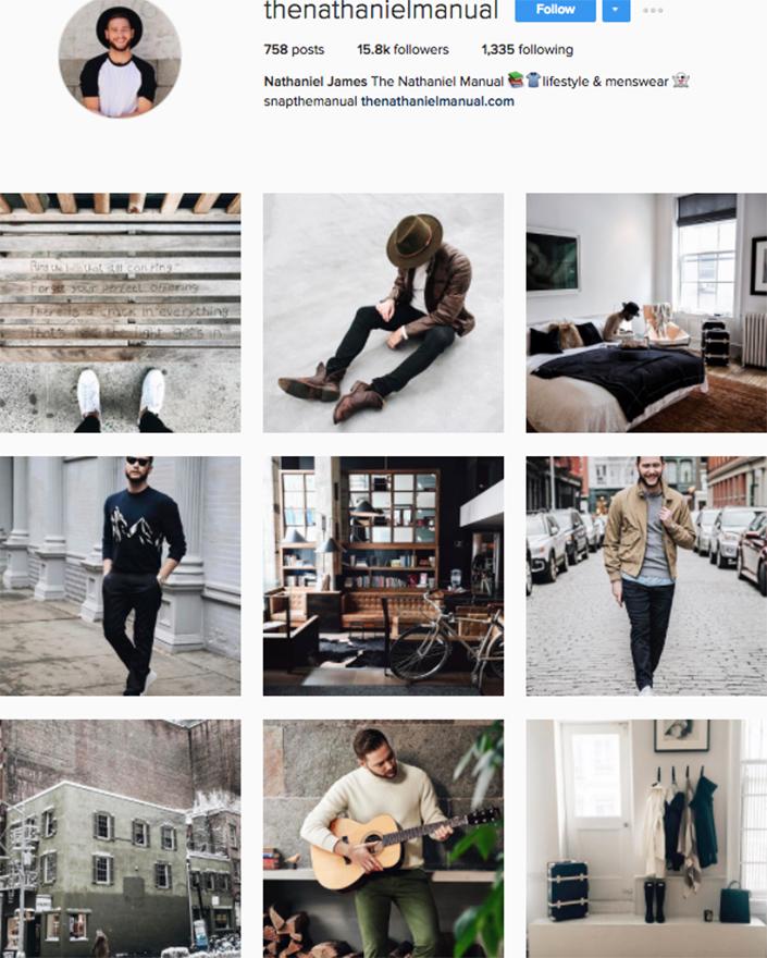 best menswear style bloggers Instagram influencers thenathanielmanual