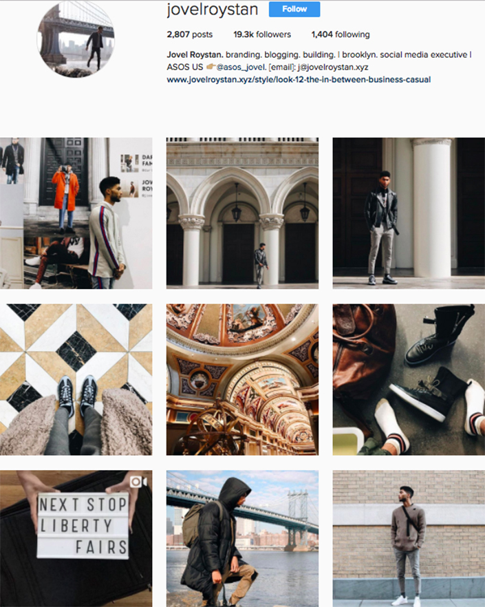 best menswear style bloggers Instagram influencers jovelroystan