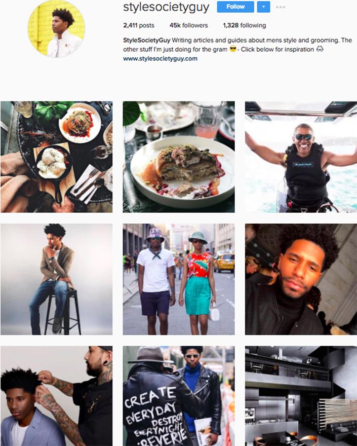 best menswear style bloggers Instagram influencers stylesocietyguy