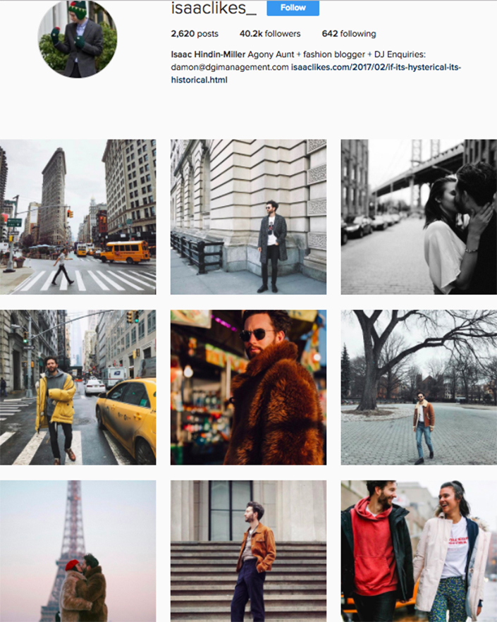 best menswear style bloggers Instagram influencers isaaclikes_y