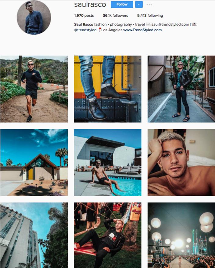 best menswear style bloggers Instagram influencers saulrasco