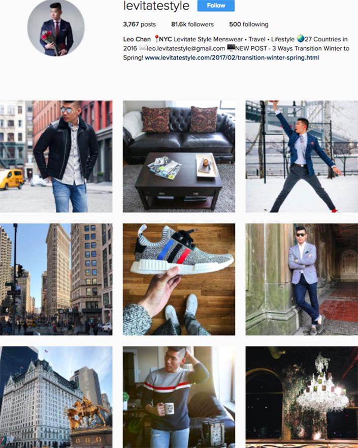 best menswear style bloggers Instagram influencers levitatestyle