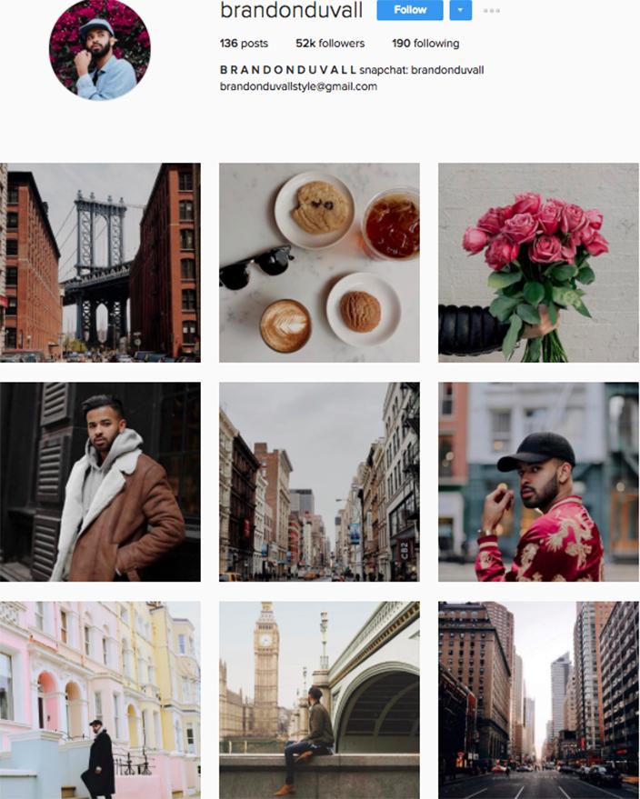 best menswear style bloggers Instagram influencers brandonduvall