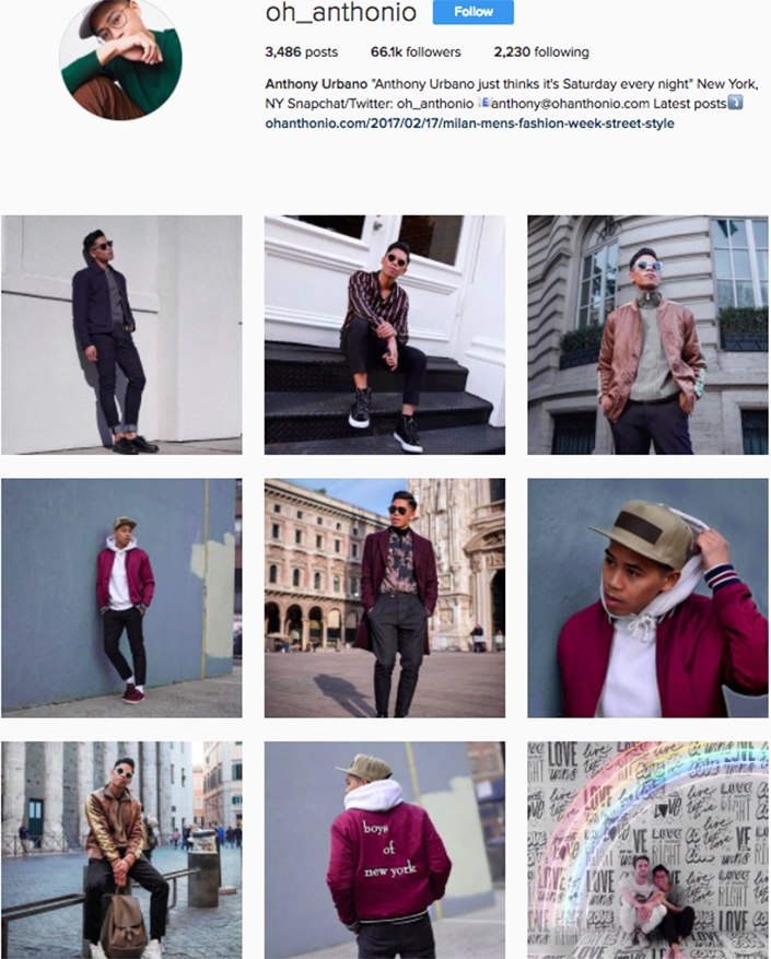 best menswear style bloggers Instagram influencers oh_anthonio