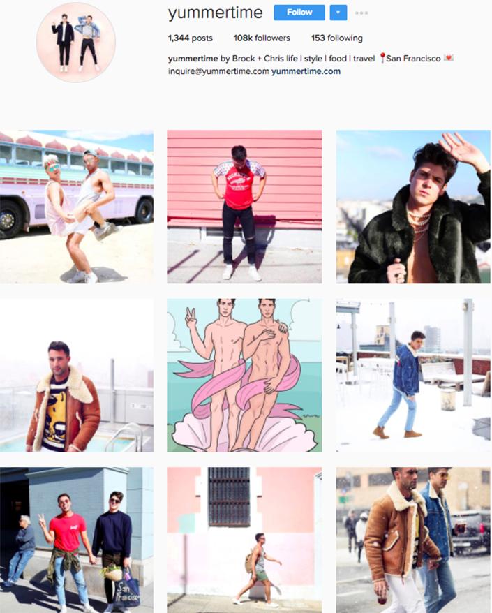 best menswear style bloggers Instagram influencers yummertime