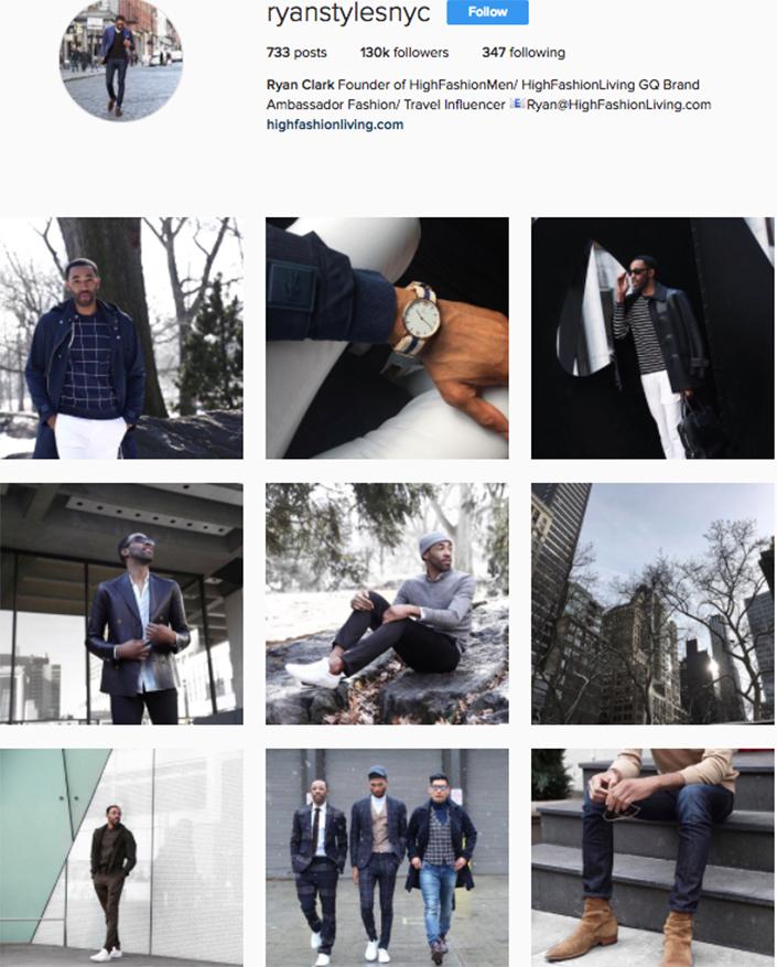 best menswear style bloggers Instagram influencers ryanstylesnyc
