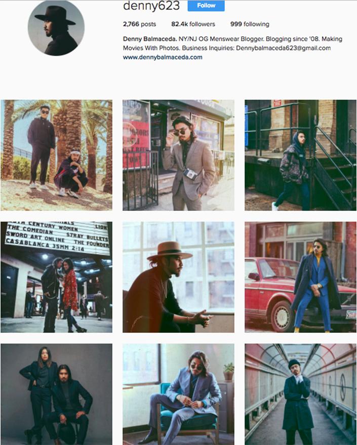 best menswear style bloggers Instagram influencers denny623