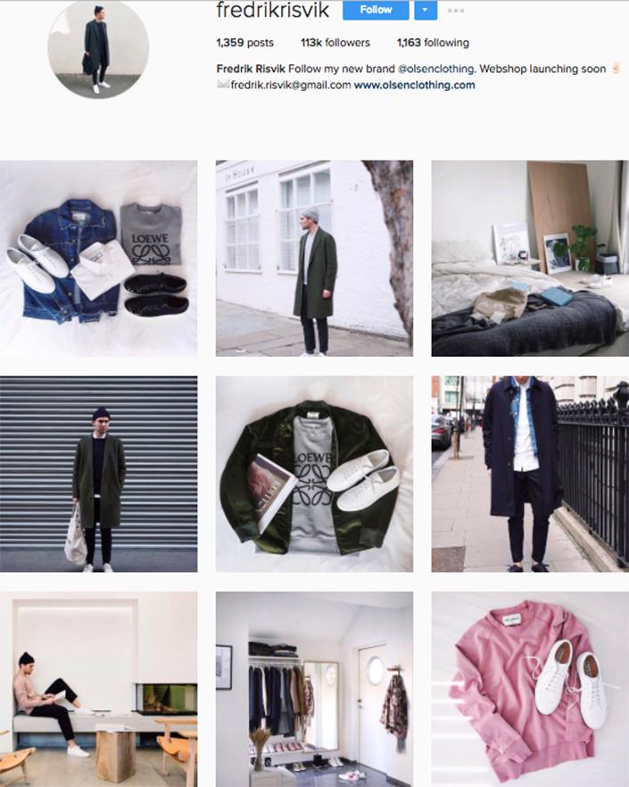 best menswear style bloggers Instagram influencers fredrikrisvik
