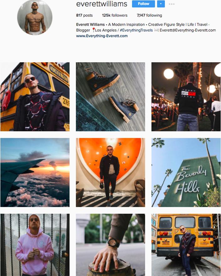 best menswear style bloggers Instagram influencers everettwilliams