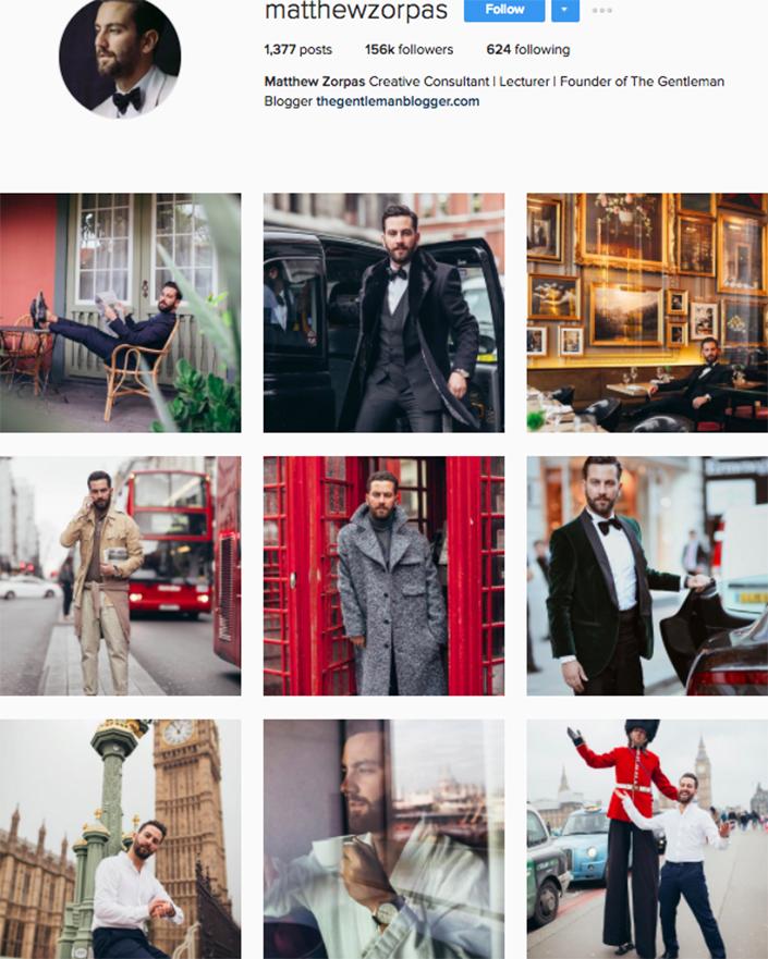 best menswear style bloggers Instagram influencers matthewzorpas