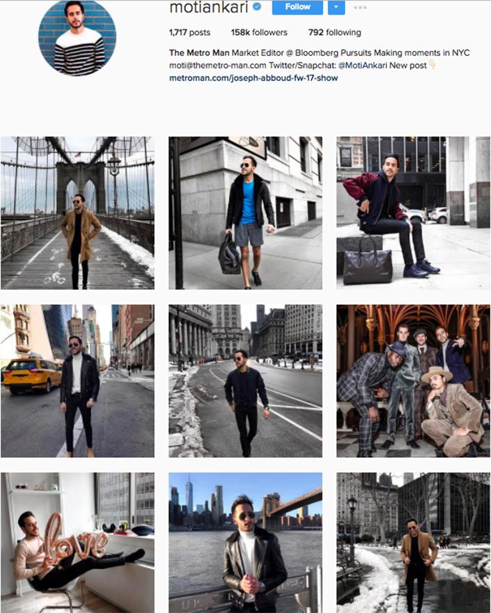 best menswear style bloggers Instagram influencers motiankari