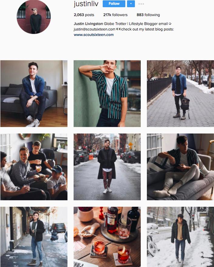 best menswear style bloggers Instagram influencers justinliv